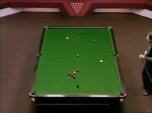 1982 World Snooker Championship Final - Alex Higgins v Ray Reardon GIFs