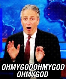 Jon Stewart My God GIFs