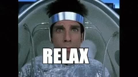 Watch and share Relax - Zoolander - Brainwash GIFs on Gfycat
