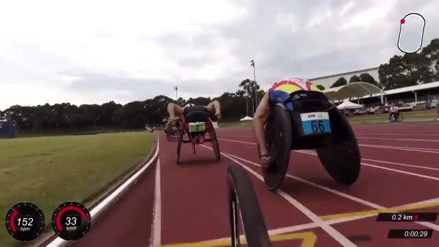Watch Wheelchair Race commentary by Richard Nicholson GIF on Gfycat. Discover more disability sport, disabled sport, inclusive sport GIFs on Gfycat