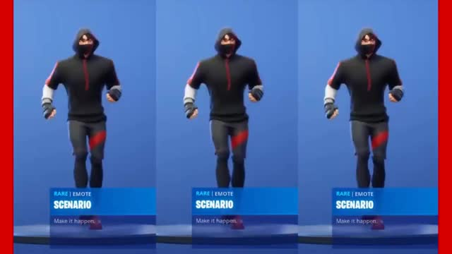Fortnite Scenario With Ikonik Skin Gif By The Livery Of Gifs