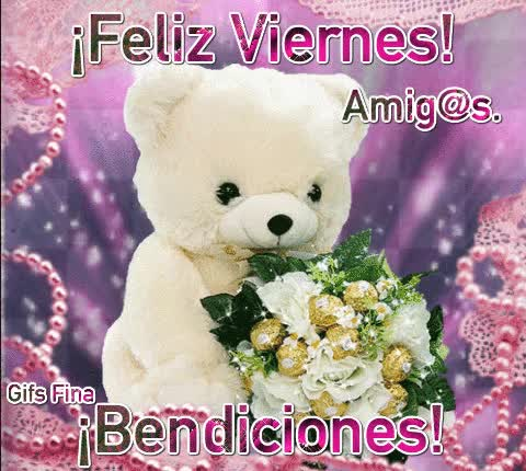 Watch and share ¡Feliz Viernes! GIFs on Gfycat