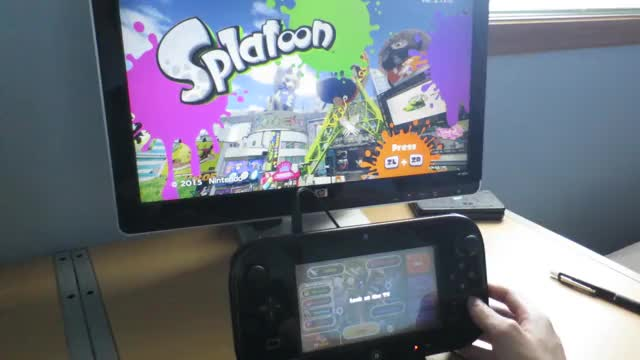 Watch and share DRC Swapping With B (Splatoon Only) GIFs by yahya14 on Gfycat