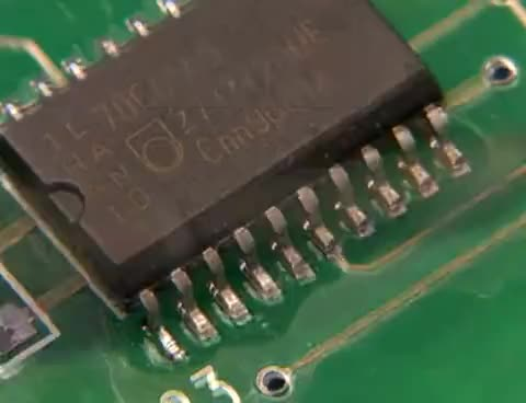 Watch and share Professional SMT Soldering:   Hand Soldering Techniques - Surface Mount GIFs on Gfycat