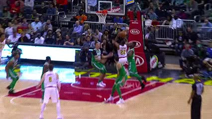 Watch John Collins — Atlanta Hawks GIF by Off-Hand (@off-hand) on Gfycat. Discover more 110617 GIFs on Gfycat