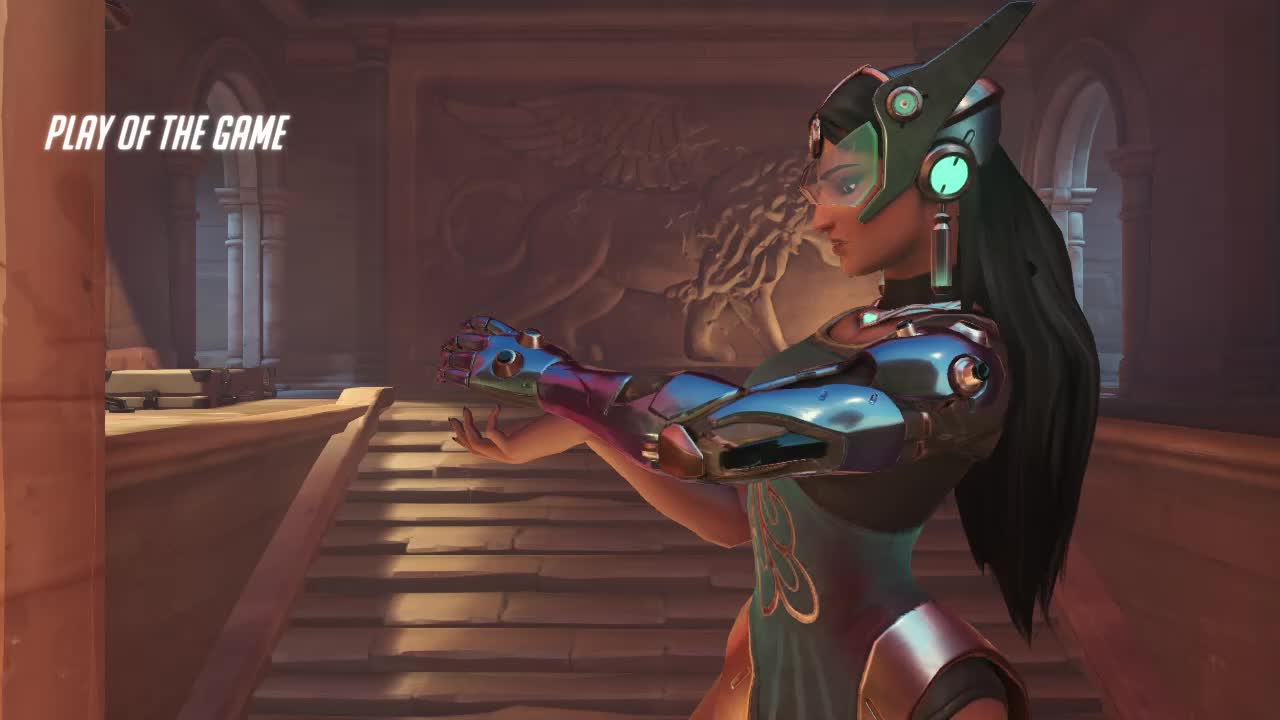 overwatch, symmetra, symmetra does nothing and gets potg 18-05-30 10-52-38 GIFs