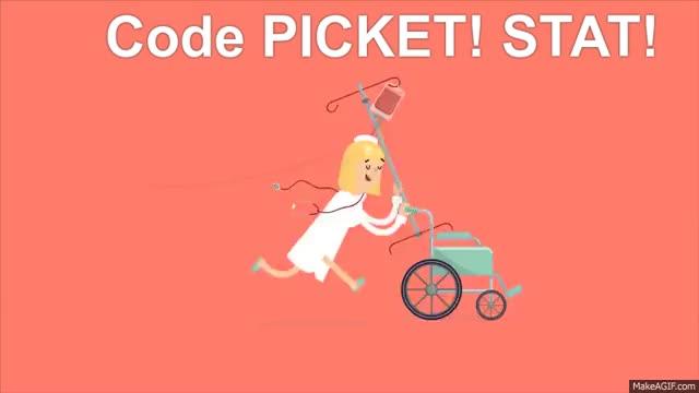 Watch and share Running Nurse GIFs on Gfycat