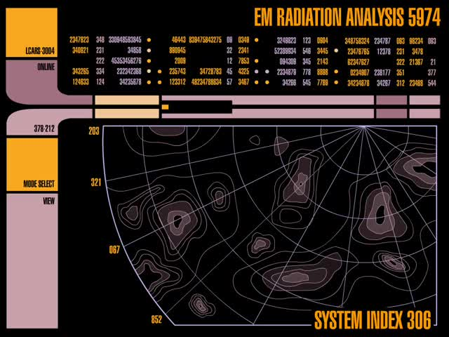 Watch EM Radiation Analysis GIF by @chaosoverfiend on Gfycat. Discover more LCARS, Star Trek GIFs on Gfycat