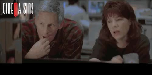 Watch this trending GIF on Gfycat. Discover more bill paxton, cinema sins, cinemasins, everything wrong with, eww, helen hunt, movie cliche, sharknado, tornado, twister GIFs on Gfycat