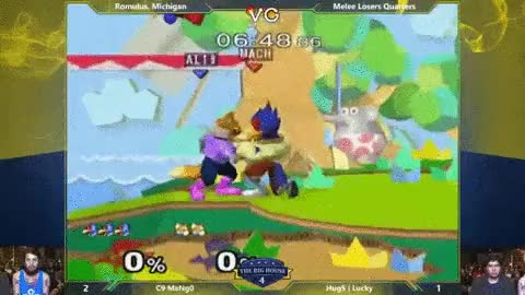 Lucky styles on Mang0