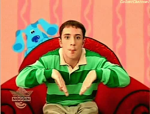 Watch and share Blues Clues GIFs on Gfycat