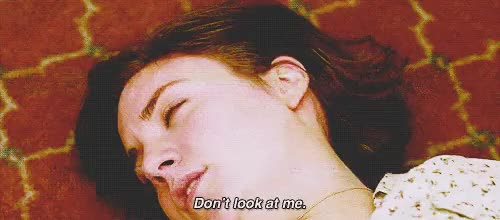 Watch dont look at me GIF on Gfycat. Discover more related GIFs on Gfycat