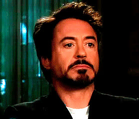 robert downey jr, A reaction shot of Robert Downey Jr looking confused. GIFs