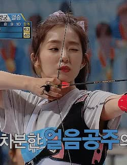 Watch and share Irene Archery GIFs and 아이린 GIFs by lovelynovelties on Gfycat
