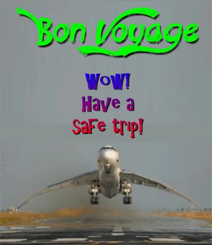 Watch and share Safe Trip GIFs on Gfycat