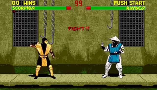 Watch and share Mortal Kombat 2 Scorpion GIFs on Gfycat