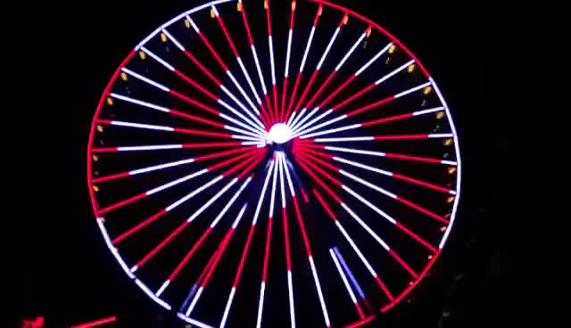 Watch and share Ferris Wheel GIFs and Lights GIFs on Gfycat