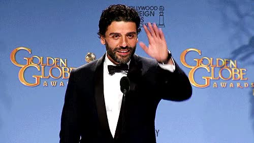 Watch this golden globes GIF on Gfycat. Discover more golden globes, oscar isaac, waving GIFs on Gfycat
