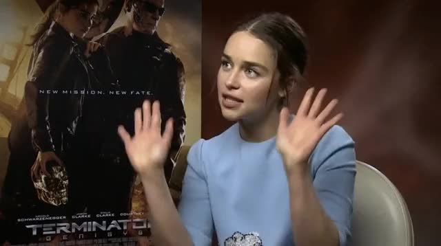 Watch and share Raise The Roof GIFs and Emilia Clarke GIFs on Gfycat