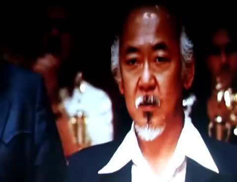 Watch and share Daniel San Karate Kid Crane GIFs on Gfycat