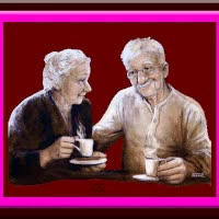 Watch and share Old Couple - - Ouder Paar GIFs on Gfycat