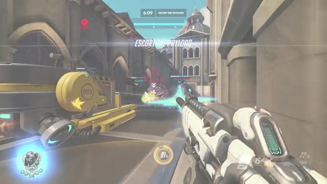 Watch au whyyyyyyy GIF by GloveSmug (@superkevin64) on Gfycat. Discover more highlight, overwatch, soldier GIFs on Gfycat
