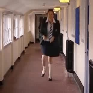Watch and share Miranda Hart GIFs and Galoppieren GIFs by Trendizisst on Gfycat