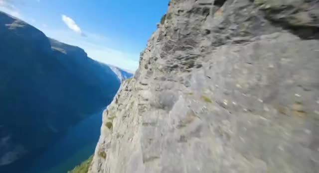 Watch and share 10/10 Drone Control. Gudvangen, Norway GIFs on Gfycat