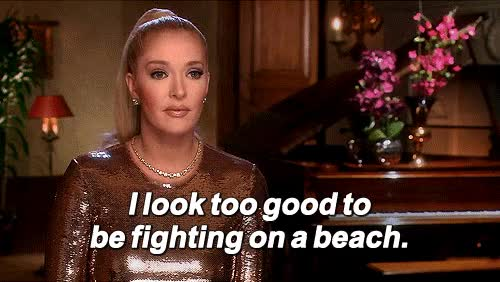 Watch Seriously, who wants to fight on a beach in Dubai? GIF on Gfycat. Discover more erika jayne GIFs on Gfycat