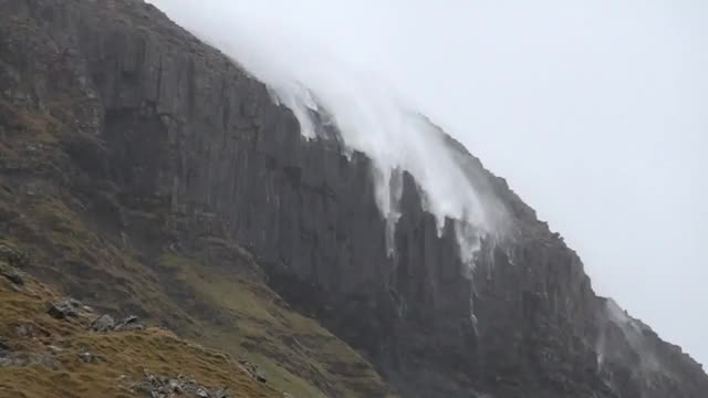 Watch and share Reverse Waterfall GIFs and Faroe Islands GIFs on Gfycat
