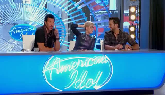 2018, Hollywood, Lionel, Live, ad, bryan, captionthis, competition, contestant, fox, hilarious, idol, itsfriday, katy, performance, perry, reality, richie, television, tgif, Katy Perry GIFs