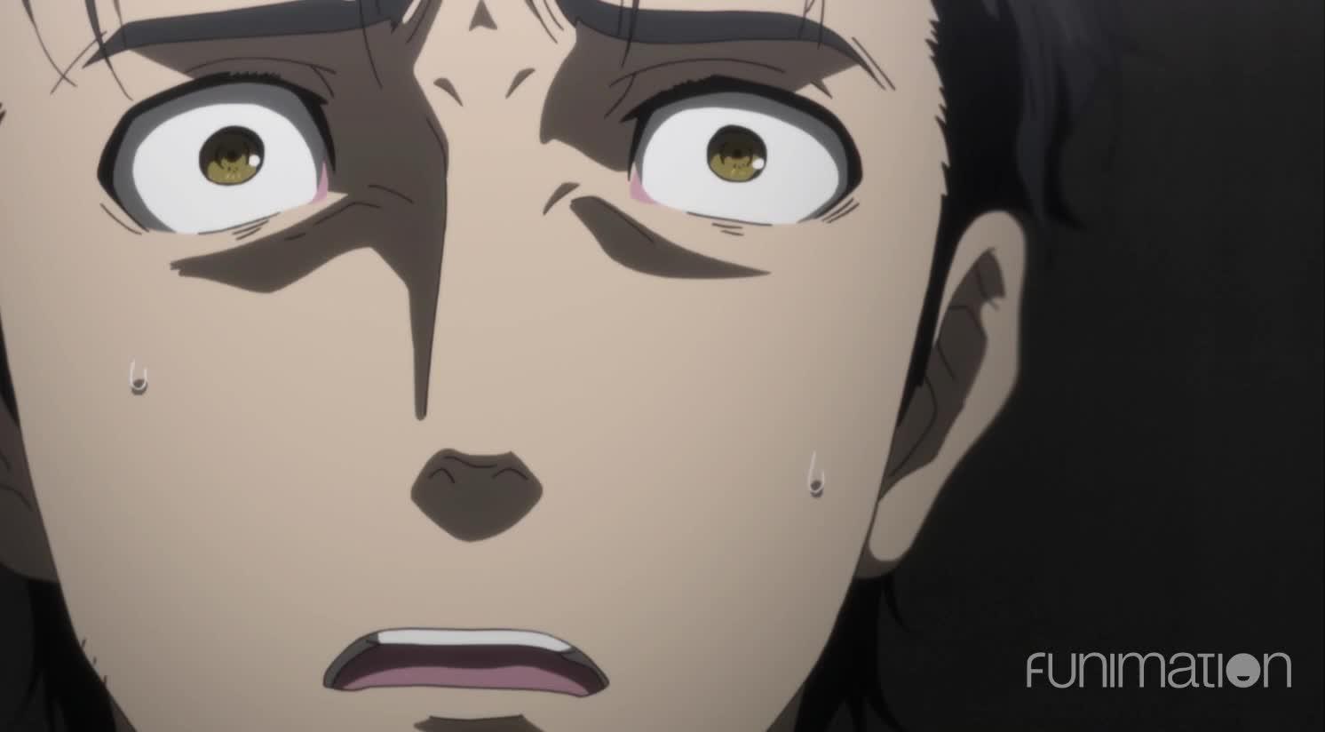 Funimation, Steins;Gate, Steins;Gate Episode 6, SteinsGate, anime, sci-fi, scifi, going pale GIFs