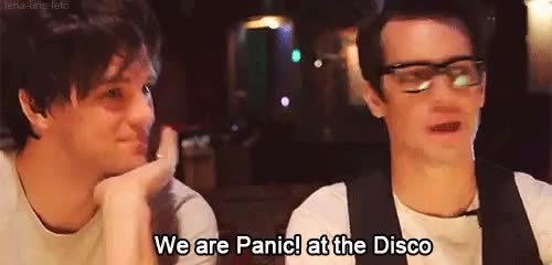 Watch fucking destroya GIF on Gfycat. Discover more brendon urie, dallon weekes, panic!at the disco, patd GIFs on Gfycat