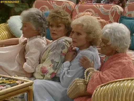 Watch and share What Did You Say GIFs and Golden Girls GIFs by Trendizisst on Gfycat