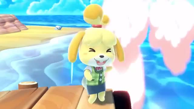 Watch and share Smash Bros Ultimate GIFs and Animal Crossing GIFs by wonkit on Gfycat