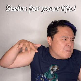 KimHuat, Singapore, mrbrown, Kim Huat Swim GIFs