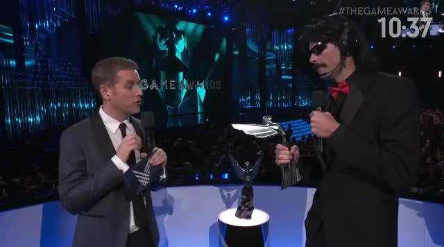 Dr. Disrespect wins!