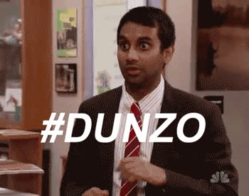 atlast, aziz ansari, finally, itsover, parks and rec, finally GIFs