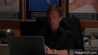 Watch and share Barney Stinson NOOOO GIFs on Gfycat