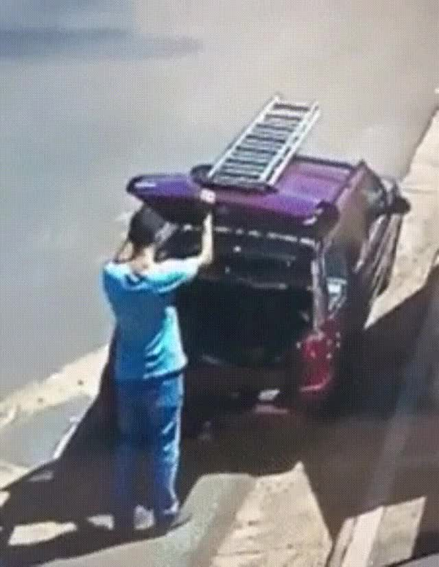 Watch and share He Failed To Take The Back Window Into Account... GIFs on Gfycat