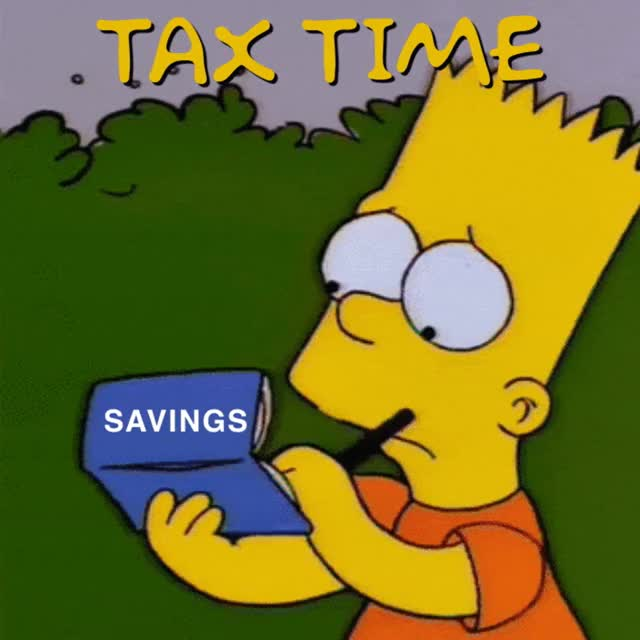 Watch and share Simpsons GIFs and Tax Day GIFs by INTO ACT!ON on Gfycat