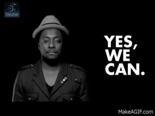 Watch and share Yes We Can - Barack Obama Music Video GIFs on Gfycat