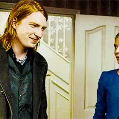 Watch and share Fleur Delacour GIFs and Bill Weasley GIFs on Gfycat
