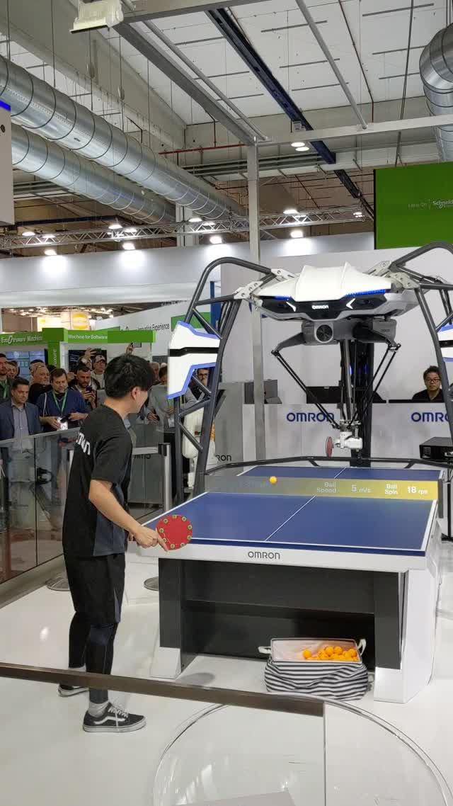 Watch and share Table Tennis Robot GIFs by tommiiiit on Gfycat
