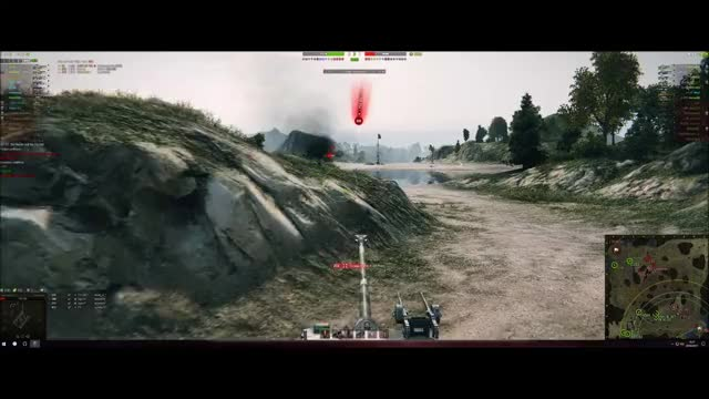 Watch Bending Bullets GIF on Gfycat. Discover more WorldofTanks, clutch, lorraine 40 t GIFs on Gfycat