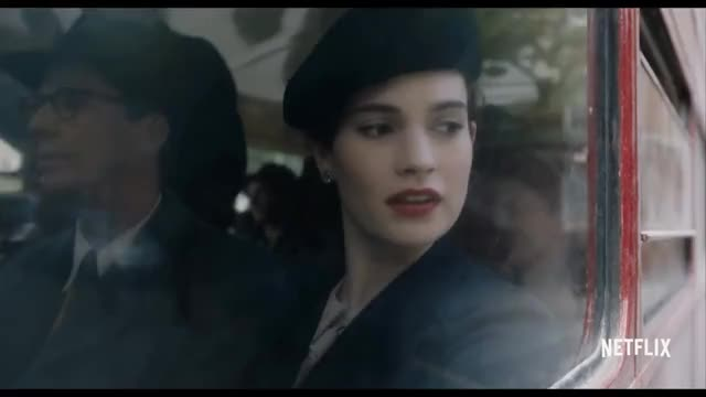 Watch The Guernsey Literary and Potato Peel Pie Society | Official Trailer [HD] | Netflix GIF on Gfycat. Discover more 08282016ntflxuscan, Drama, Occupation, comedy, documentary, movies, netflix, plvahqwmqn4m35d1xdbuewzt_r36z6tiz3, plvahqwmqn4m3lraqgsslevbfadl7bbbwq, streaming, television, trailer GIFs on Gfycat