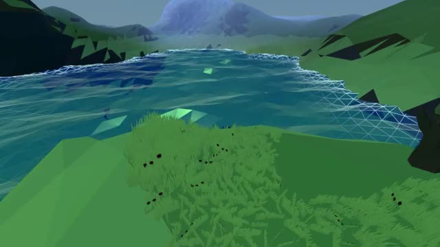 Polywater - Unity water shader GIF by Ronnie Moe (@ro9amr) | Find