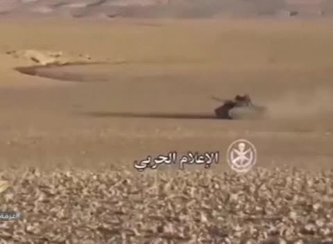 Watch and share The Uran-9 Unmanned Ground Vehicle In Syria GIFs on Gfycat