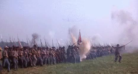 Watch Confederate Soldier Line Marches GIF by @nurdbot on Gfycat. Discover more related GIFs on Gfycat