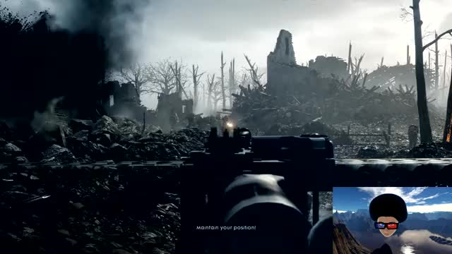 Watch Battlefield 1 Webcam view GIF by @azadux on Gfycat. Discover more bigscreen, vr GIFs on Gfycat